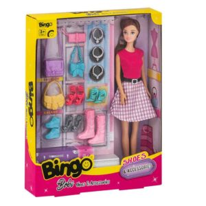 Bingo Bobi Shoes & Accessories 2 Asst Color-burnette