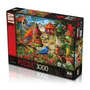 Bird House Garden 3000 pieces K's Games
