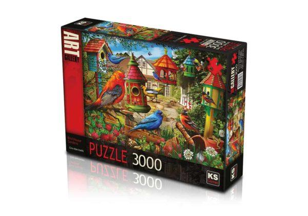 بازل حديقة بيت الطيور 3000 قطعة