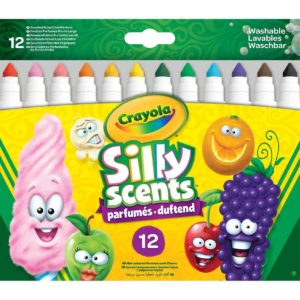 CR Silly Scents 12ct Markers