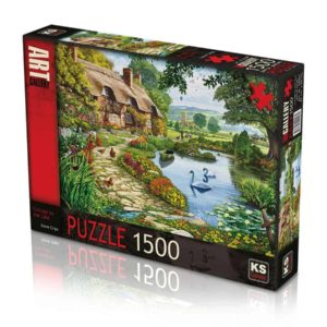Cottage By The Lake 1500 Pieces K's Games