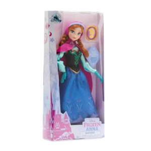 Disney Anna Classic Doll with Pendant – Frozen