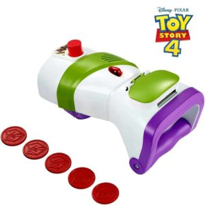 Disney Pixar Toy Story Buzz Lightyear Rapid Disc Launcher