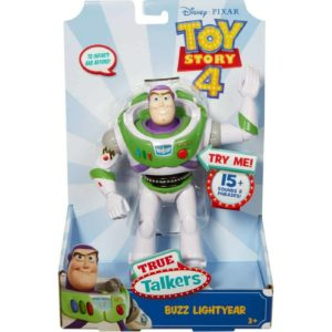 Disney Pixar Toy Story True Talkers Buzz Lightyear with 15+ Phrases