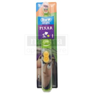 Kid's Battery Toothbrush featuring Disney Pixar's Toy Story, Soft Bristles