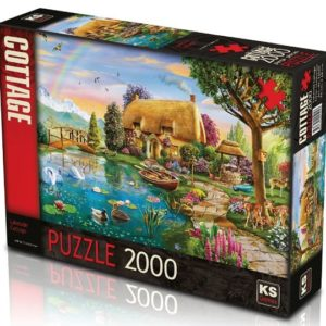 Lakeside Cottage 2000 pieces K's Games