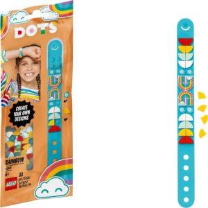 Lego Dots Rainbow Bracelet