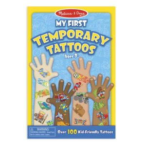 MY FIRST TEMPORARY TATTOOS +3