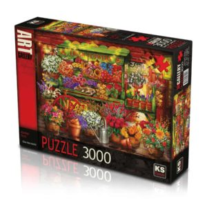 Market Stall 3000 pieces K's Games