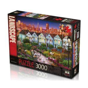 San Fran 3000 pieces K's Games