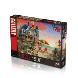 Summer House 1500 pieces K's Games