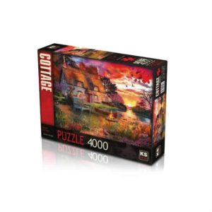 Sunset Cottage 4000 pieces K's Games