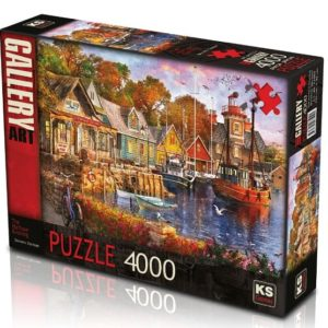The Harbour Evening 4000 Pieces K's Games