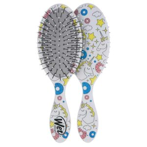 Wet Brush Hair Brush Kids Detangler Unicorn Print