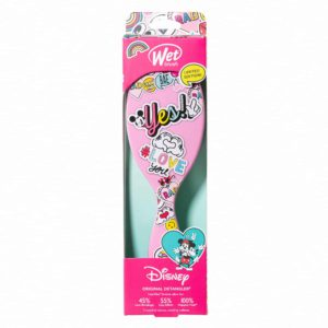 Wet Brush Original Detangler Disney Classics - Peace Love pink