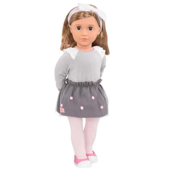 Our Generation Regular Doll with Pom Pom Skirt - Bina