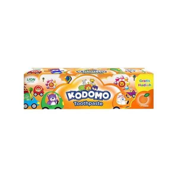 معجون اسنان الاطفال كودومو- برتقال- 45 جم