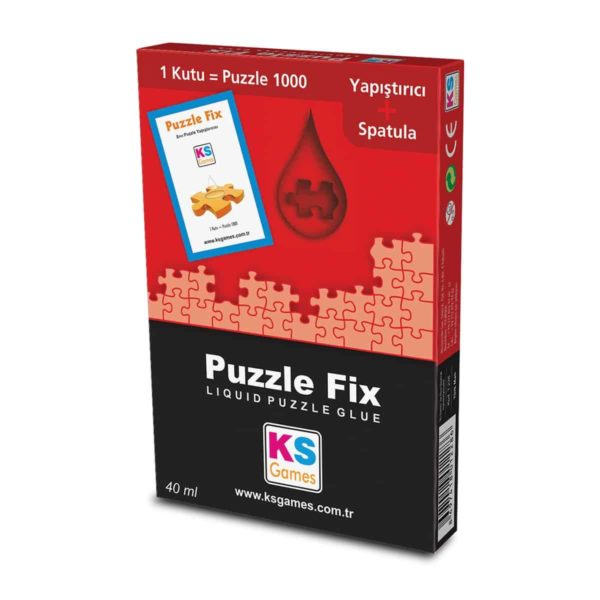 ks games puzzle fix adhesive 40 gr