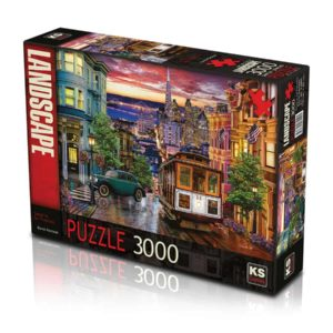 puzzle 3000 sunset in san fran