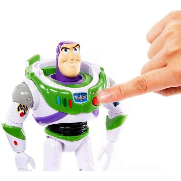 pixar toy story true talkers buzz lightyear with 15+ phrases disney