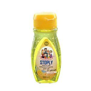 stoply hand gel lemon 100m