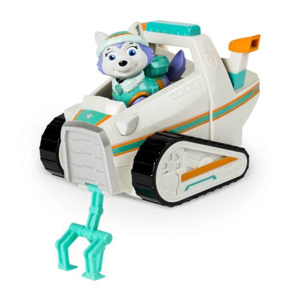 paw patrol – everest's rescue snowmobile – everest figure