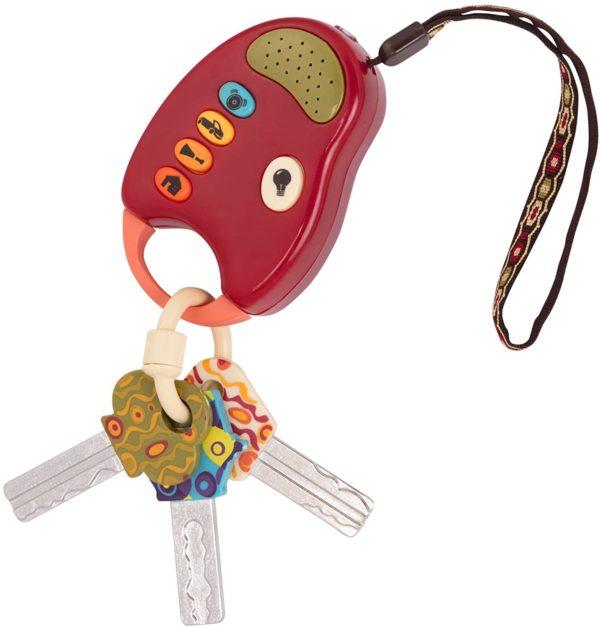 لعبة مفاتيح السيارة للاطفال من بي تويز