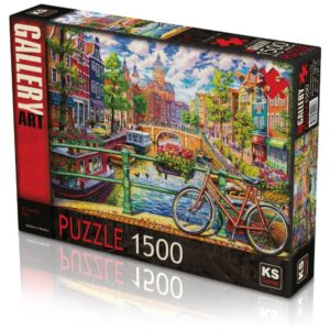 A Colorful City 1500 pieces K's Games