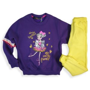 Doll Pajama Purple Banana