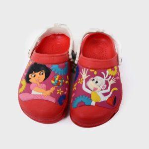 Dora Crocs Red