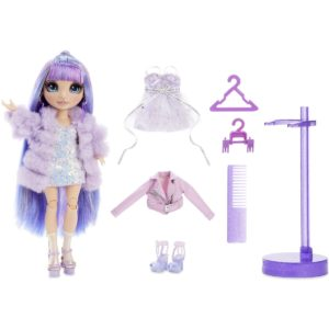 Rainbow High Violet Willow – Purple Fashion Doll with 2 Outfits