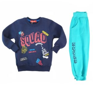Squad pajama Blue Kangaroo