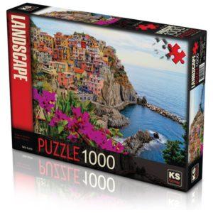 Village of Manarola Italy 1000 pieces K's Games