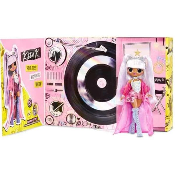 OMG Remix Kitty K Fashion Doll – 25 Surprises with Music L.O.L. Surprise!