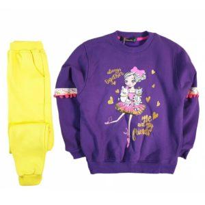 Doll Pajama Purple Banana