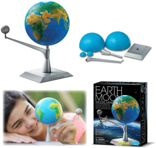 earth moon model making kit 4m