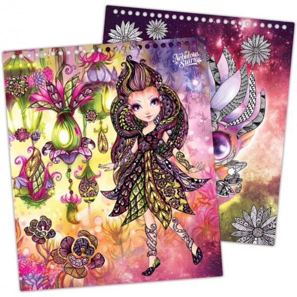 petulia's creative sketchbook nebulous stars