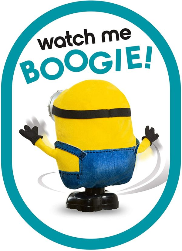 Illumination's Minions: The Rise of Gru Boogie Dancing Bob