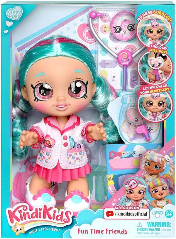 kindi kids fun time 10 inch doll