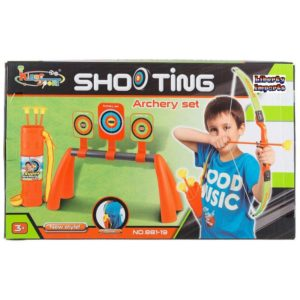 Archery Shooting Set with 3 Targets King Sport