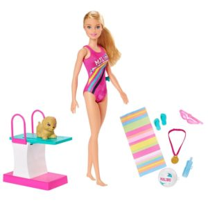 Barbie Dreamhouse Adventures Swim 'n Dive Doll