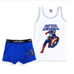 Kid Zone Captain America Underwear