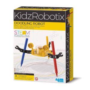 Kidzrobotix Doodling Robot 4M