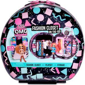L.O.L. Surprise! O.M.G. Fashion Closet On-the-Go Rolling Storage Playset