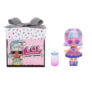 LOL Surprise! Present Surprise Doll with 8 Surprises