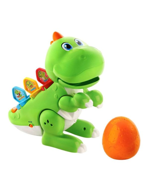 learn & dance dino baby interactive toy vtech