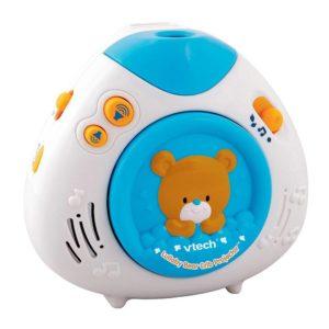 lullaby teddy crib musical projector