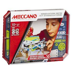 Meccano, Set 5, Motorized Movers S.T.E.A.M. Building Kit