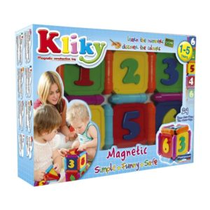 Plastwood Kliky Numbers 24 Pieces