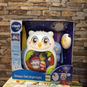 sleepy owl nightlight
